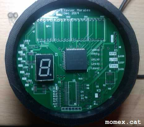 Carcassa i PCB. Source: Momex.cat