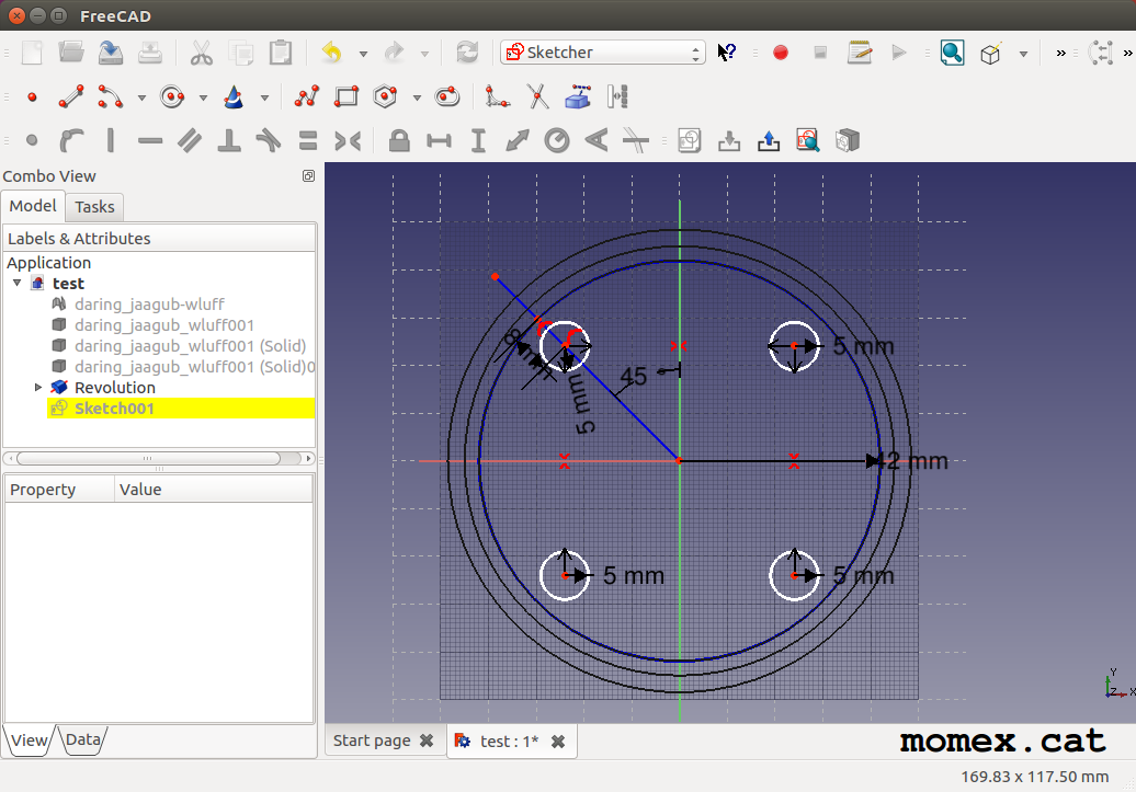 Content: Creation of the 3D model tachometer housing. Source: Momex.cat